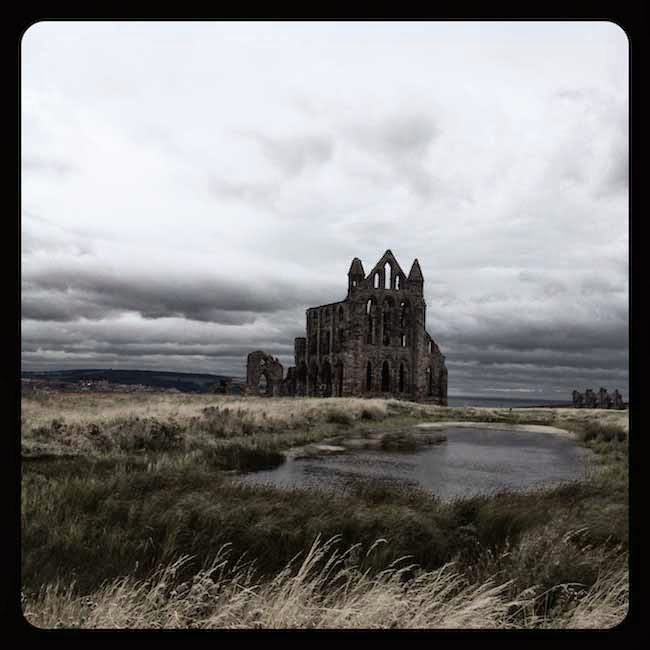 Whitby Abbey in August