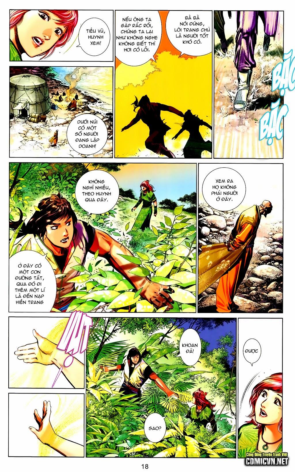 Phong Vân Chap 663 - Trang 18
