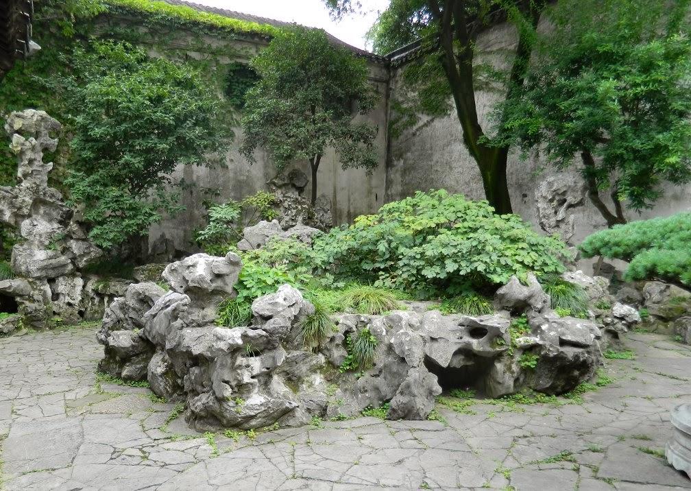 Lingering Garden Suzhou rock garden by garden muses-Toronto gardening blog