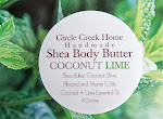 Coconut Lime Shea Body Butter - Handmade by Circle Creek Home