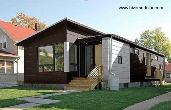 Casa pequeña prefabricada y modular en Estados Unidos