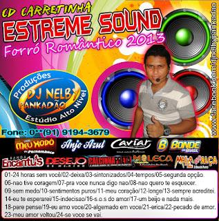 CD Carretinha Estreme Sound - Forró Romântico