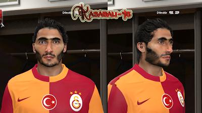PES 2014 Hamit Altıntop Face by kasabali45