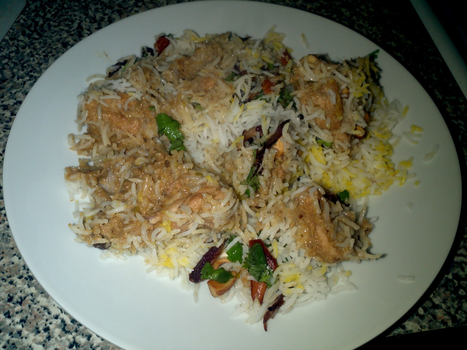 how to prepare mughlai chicken biryani