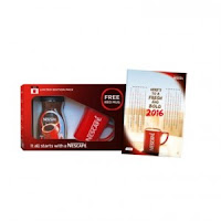 Buy NESCAFÉ Classic Coffee New Year Kit – 100g Jar, NESCAFÉ Red Mug, 2016 Calendar at Online Lowest Best Price Offer Rs. 199 : BuyToEarn