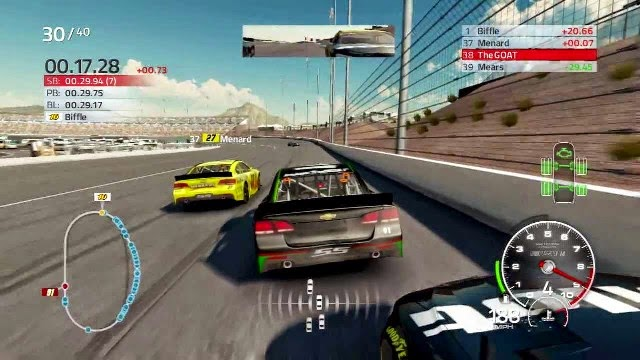 NASCAR 14 PC Games Gameplay