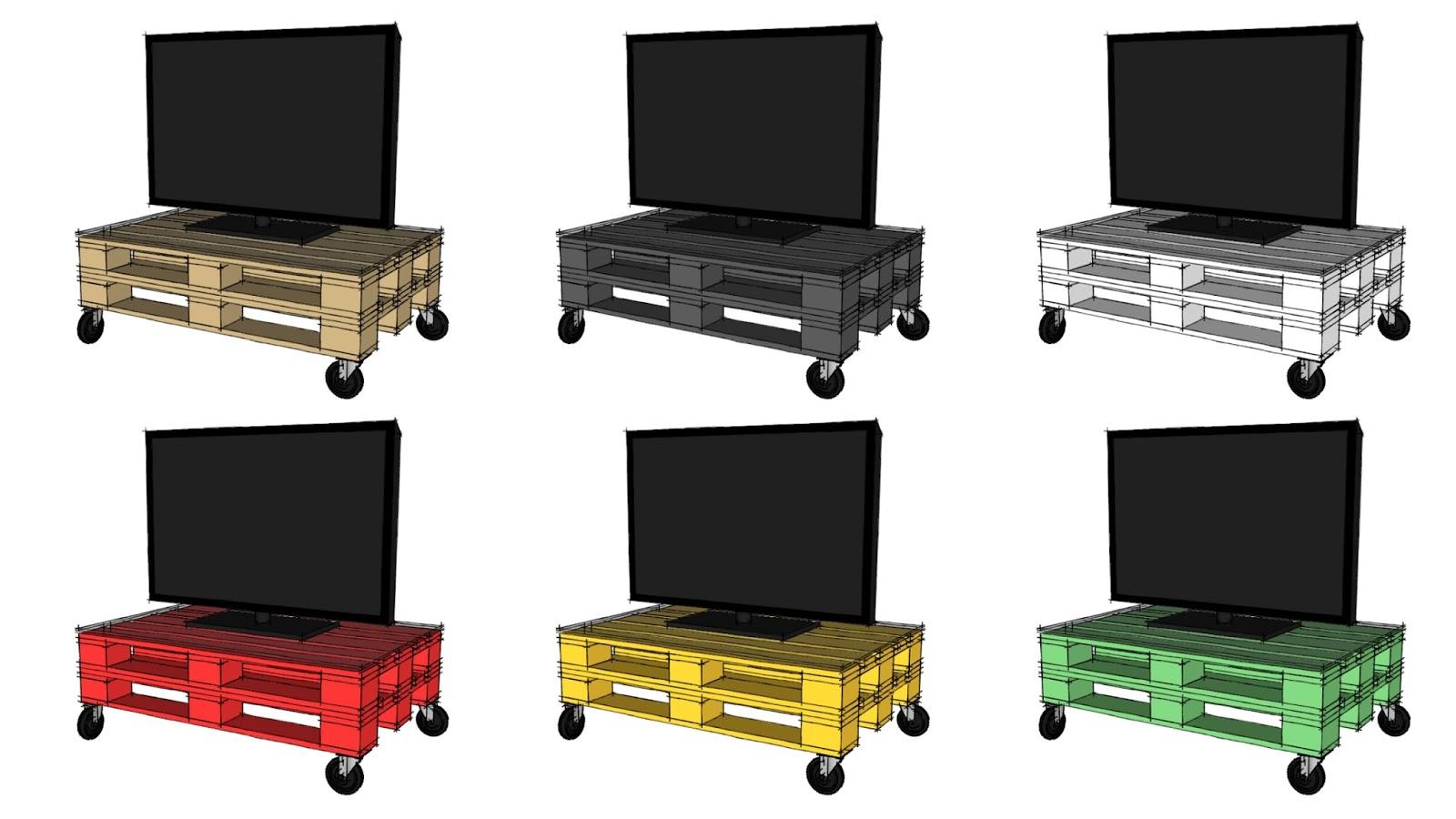 Progettare con i pallet come costruire un tavolino con i for Progettare mobili