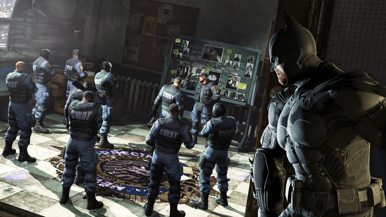 Batman Arkham Origins Cold Cold Heart Game Screenshots