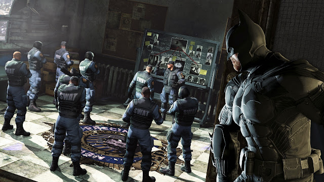 Batman Arkham Origins Cold Cold Heart Game Screenshots