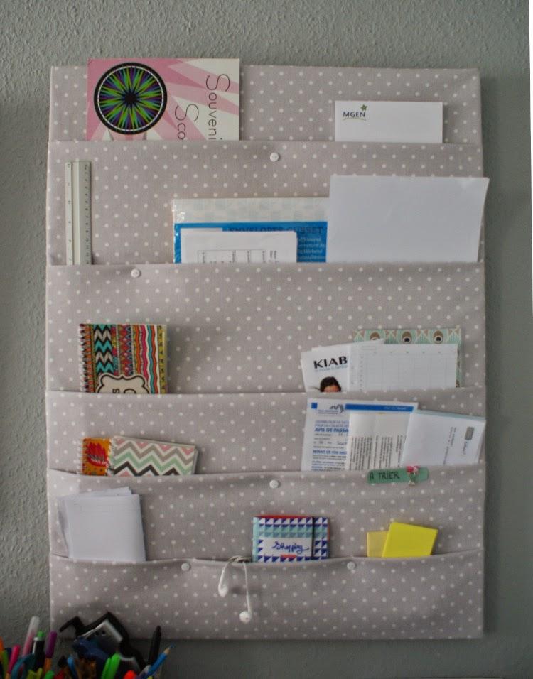 Favori DIY: Un organiseur mural - Les Lubies de Caroline OR58
