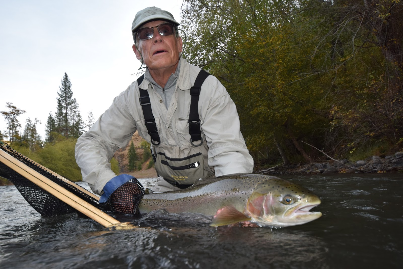 The evening hatch reports klickitat river report 10 18 15 for Klickitat river fishing report