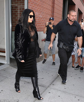 Pregnant Kim K steps out in see-through top (photos)  2C151D8600000578-3226736-image-m-85_1441733977892
