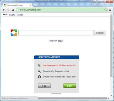 home.sweetim.com screenshot