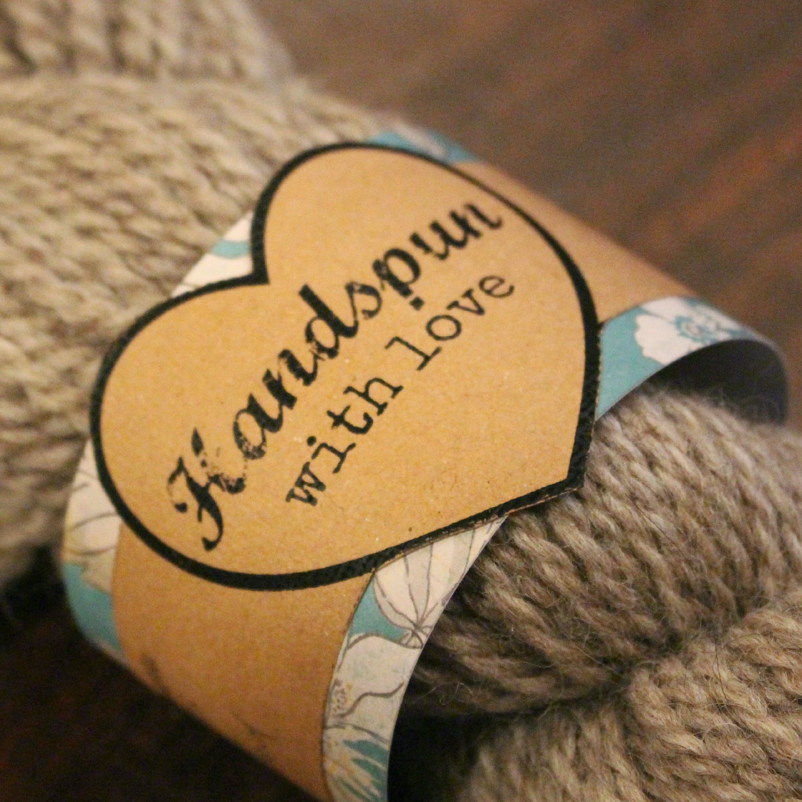 Free Printable: Handspun with Love