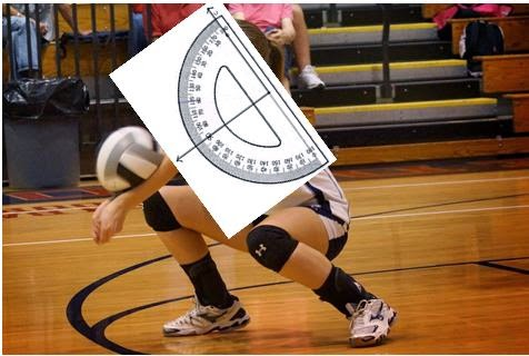 the biomechanics behind a successful volleyball dig