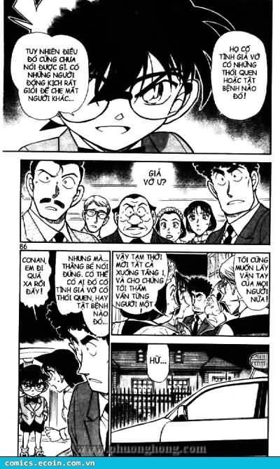Detective Conan - Thám Tử Lừng Danh Conan chap 495 page 12 - IZTruyenTranh.com