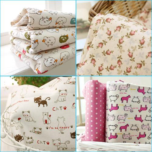 хлопковые ткани, корейские ткани, cotton