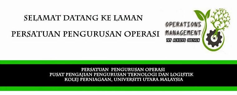 Persatuan Pengurusan Operasi