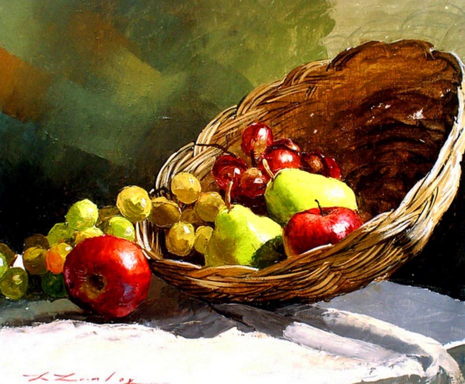 Cuadros modernos pinturas y dibujos pintura naturaleza - Pinturas bodegones modernos ...