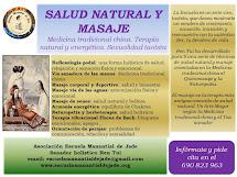 MASAJE Y TERAPIA NATURAL ORIENTAL