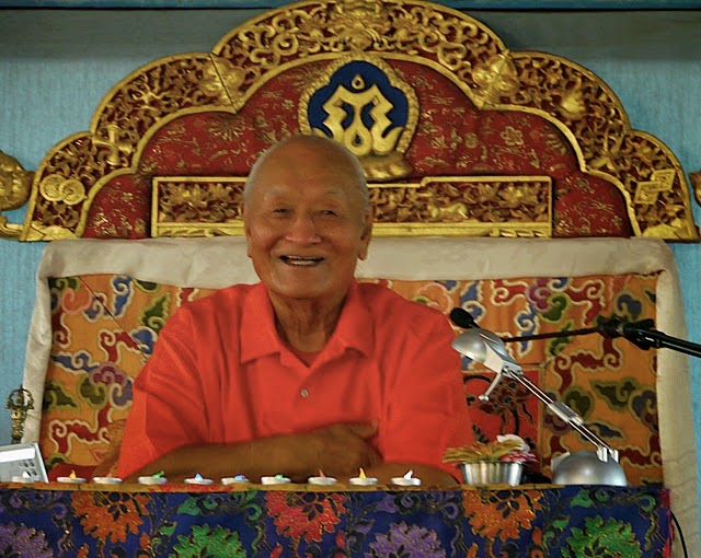Rinpoche Chögyal Namkhai Norbu