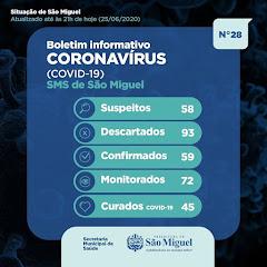 Boletim Epidemiológico 28 - São Miguel - RN