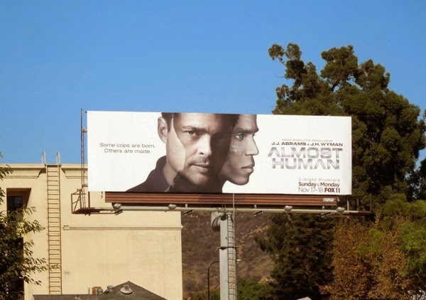 Almost Human season 1 billboard
