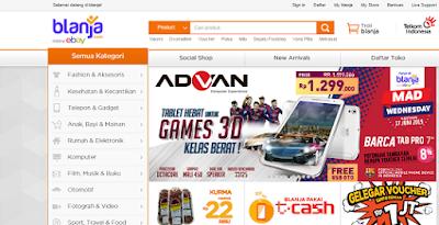 Pengalaman Belanja Online di blanja.com