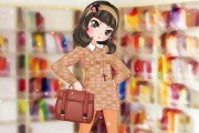 School Game : Library Girl 4