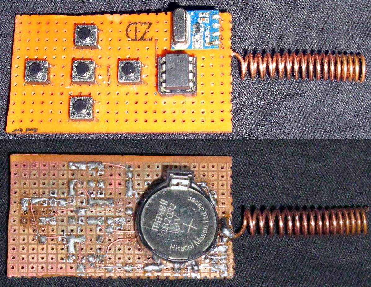 Rf Relay Board Remote Control Raido on Relay Circuit Schematic