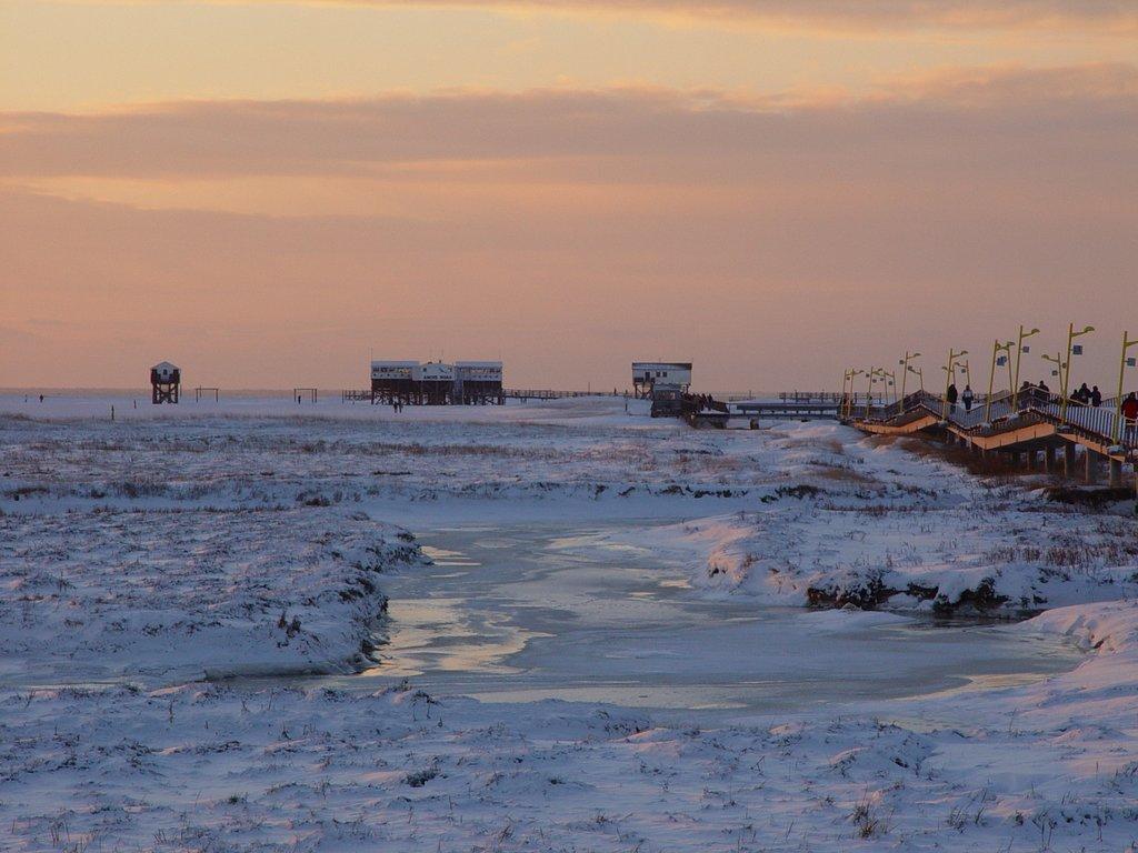 Winterfoto St. Peter-Ording