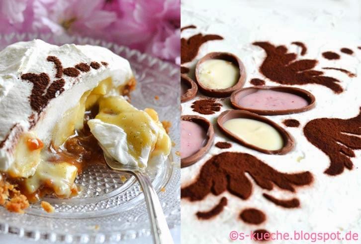 Banoffee Pie mit Eierlikörcreme