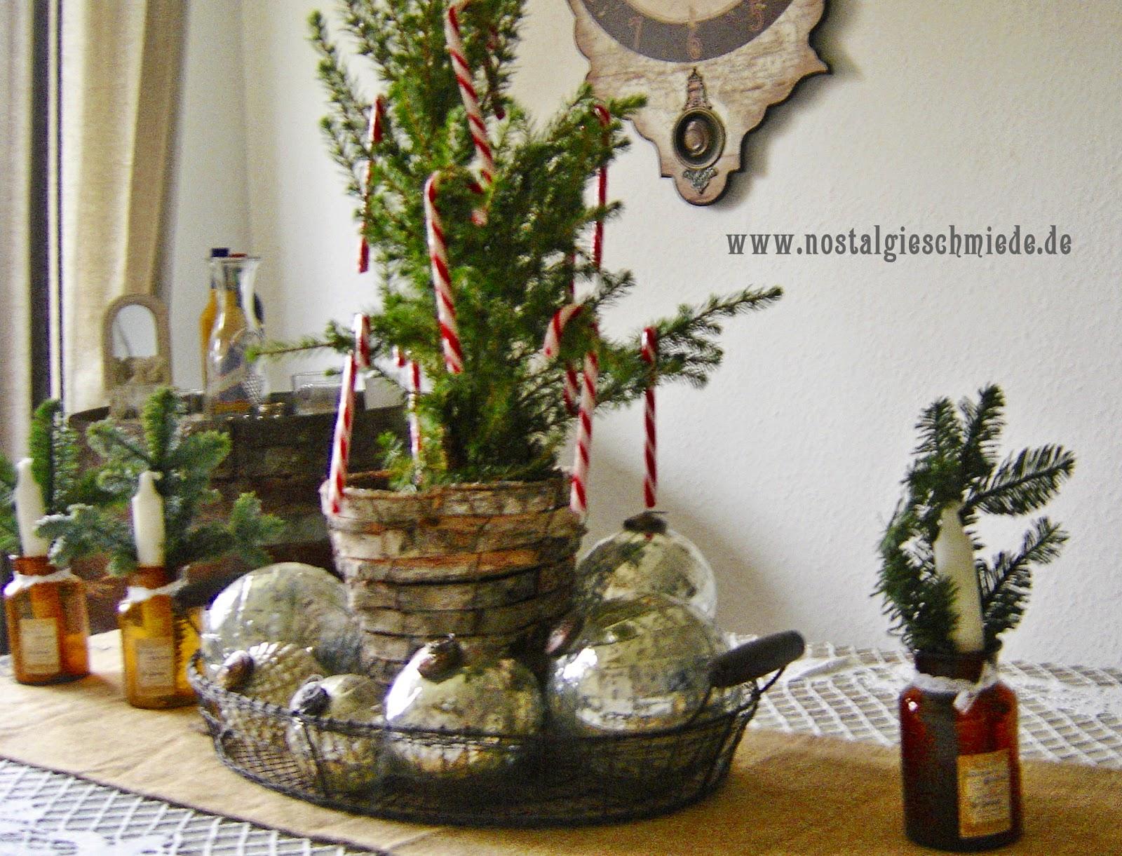 Nostalgie schmiede weihnachtsdeko for Nostalgische weihnachtsdeko
