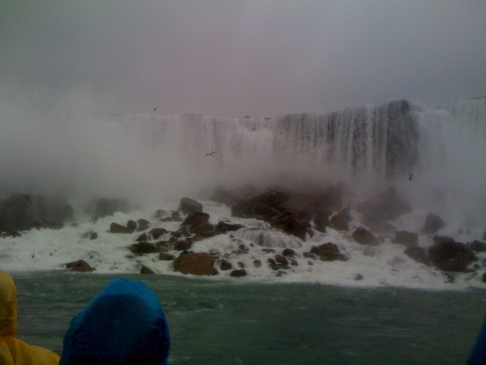 Bridal Veil Falls at Niagara Falls