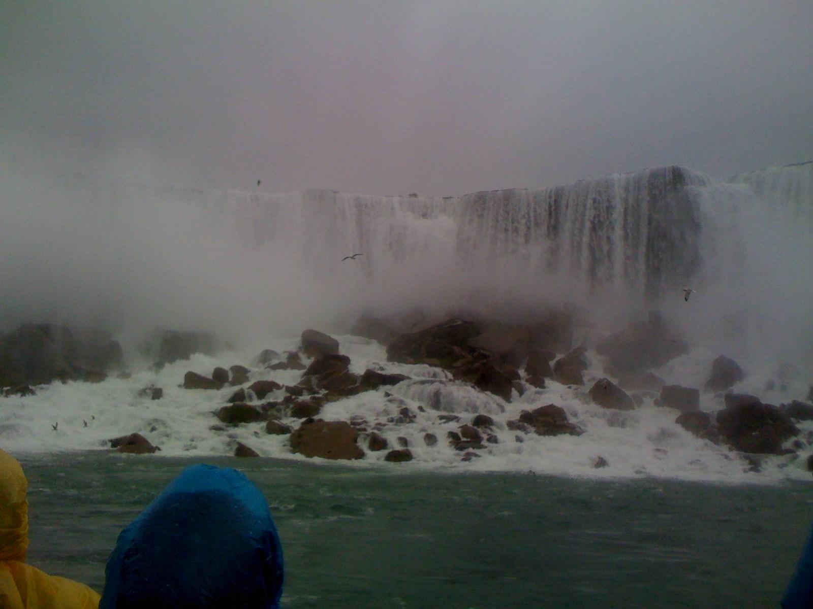 Bridal Veil Falls at Niagara Falls