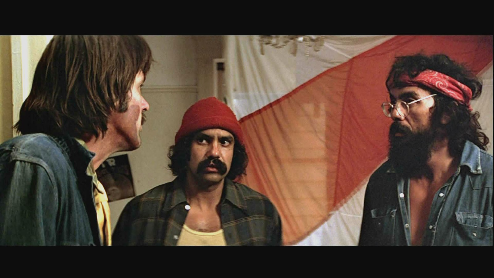 Like any good counter-culture comedy, Up in Smoke continually thumbs its  nose at authority figures and the establishment, be it narcs or nuns. The  film also ...