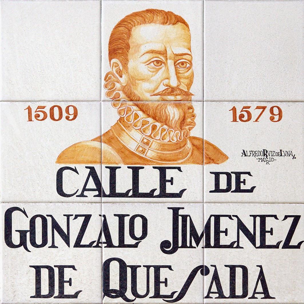 Calle de Gonzalo Jiménez de Quesada