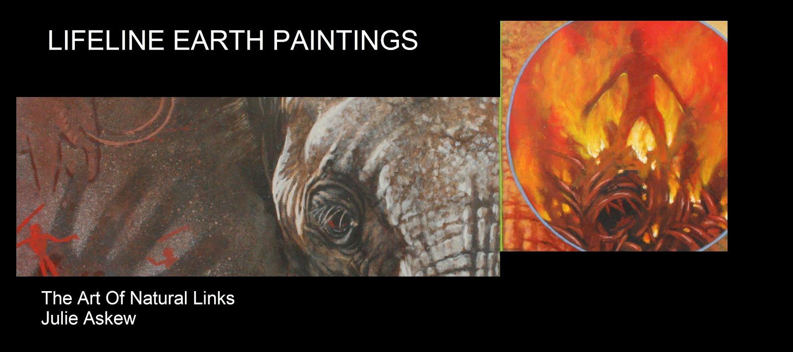 Lifeline Earth Paintings