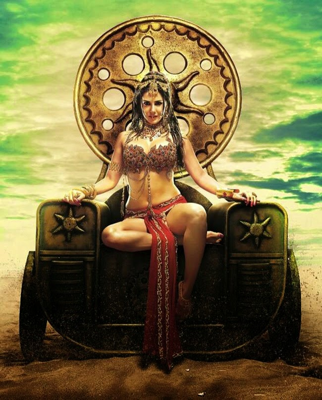 Sunny Leone Leela Movie First Look Poster