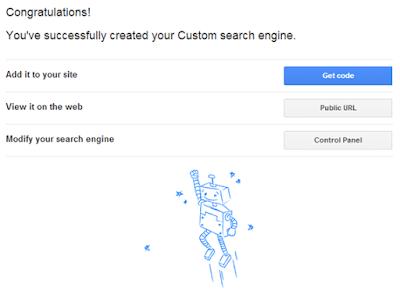 Menambah Google Custom Search Engine di Blogger