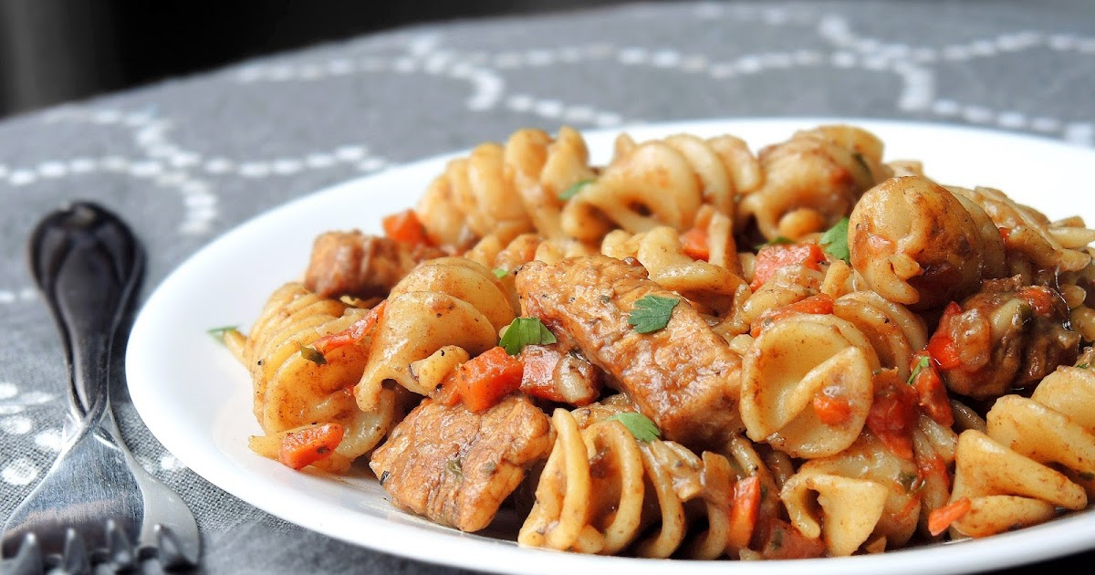 Cooking Creation: Skillet Balsamic Chicken & Rotini