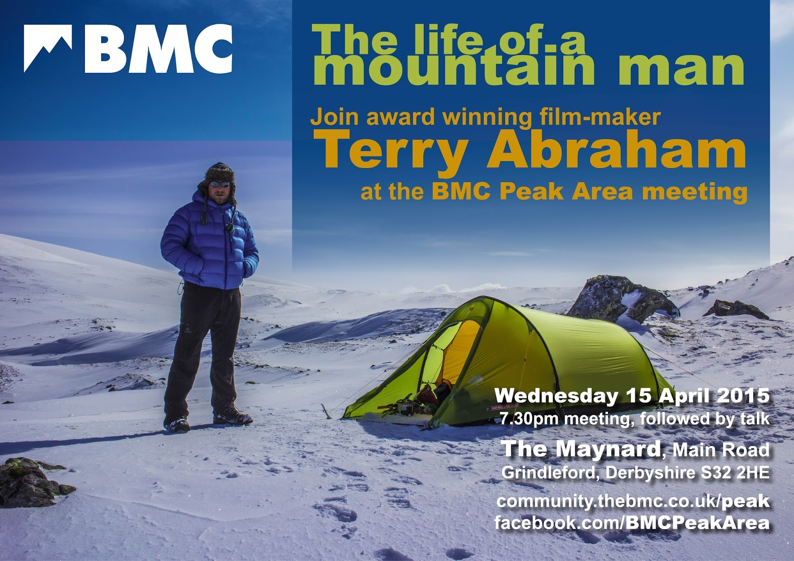 BMC Terry Abraham hillwalking