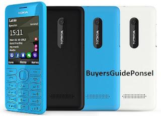 Gambar dan harga Nokia Asha 206 Dual Sim