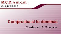 m.c.m y m.c.d