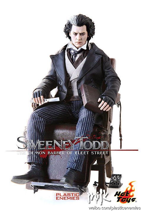 Hot Toys The Demon Barber of Fleet Street SWEENEY TODD 1//6th Scale FIGURE STAND