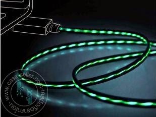 รหัสสินค้า 108039 สายดำ-ไฟสีเขียว