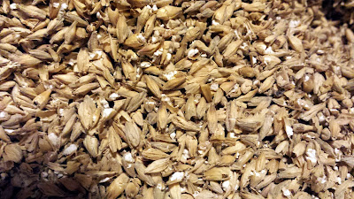 The Riverbend Malt before I ran it through my mill.