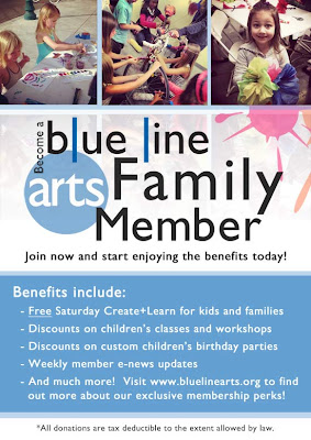Become a Blue Line Arts Family Member!