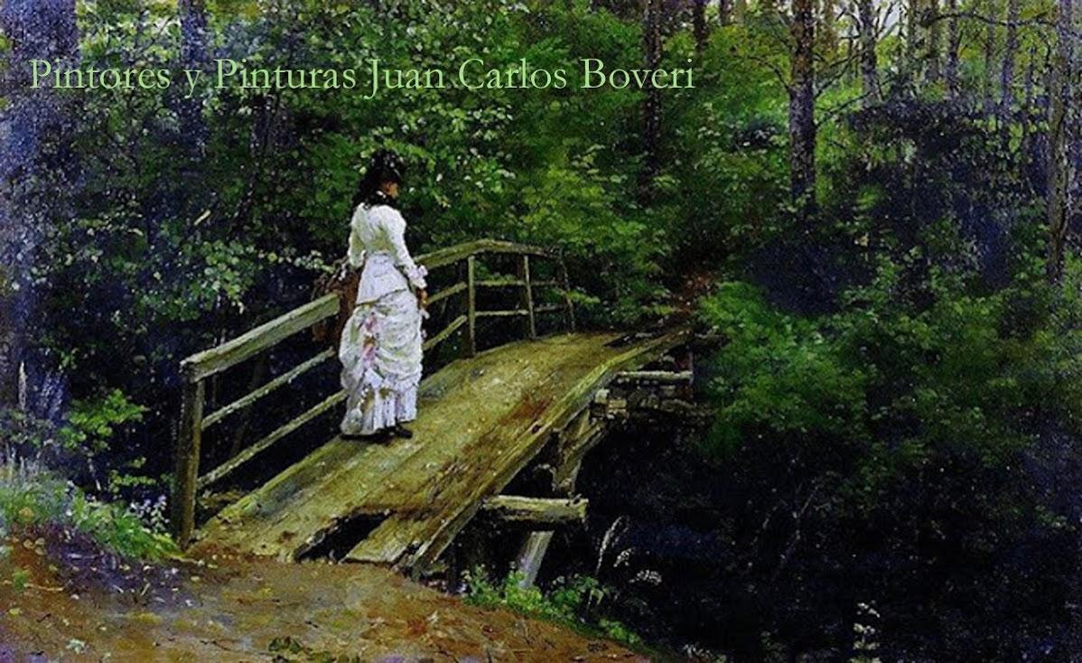 PINTORES Y PINTURAS - JUAN CARLOS BOVERI