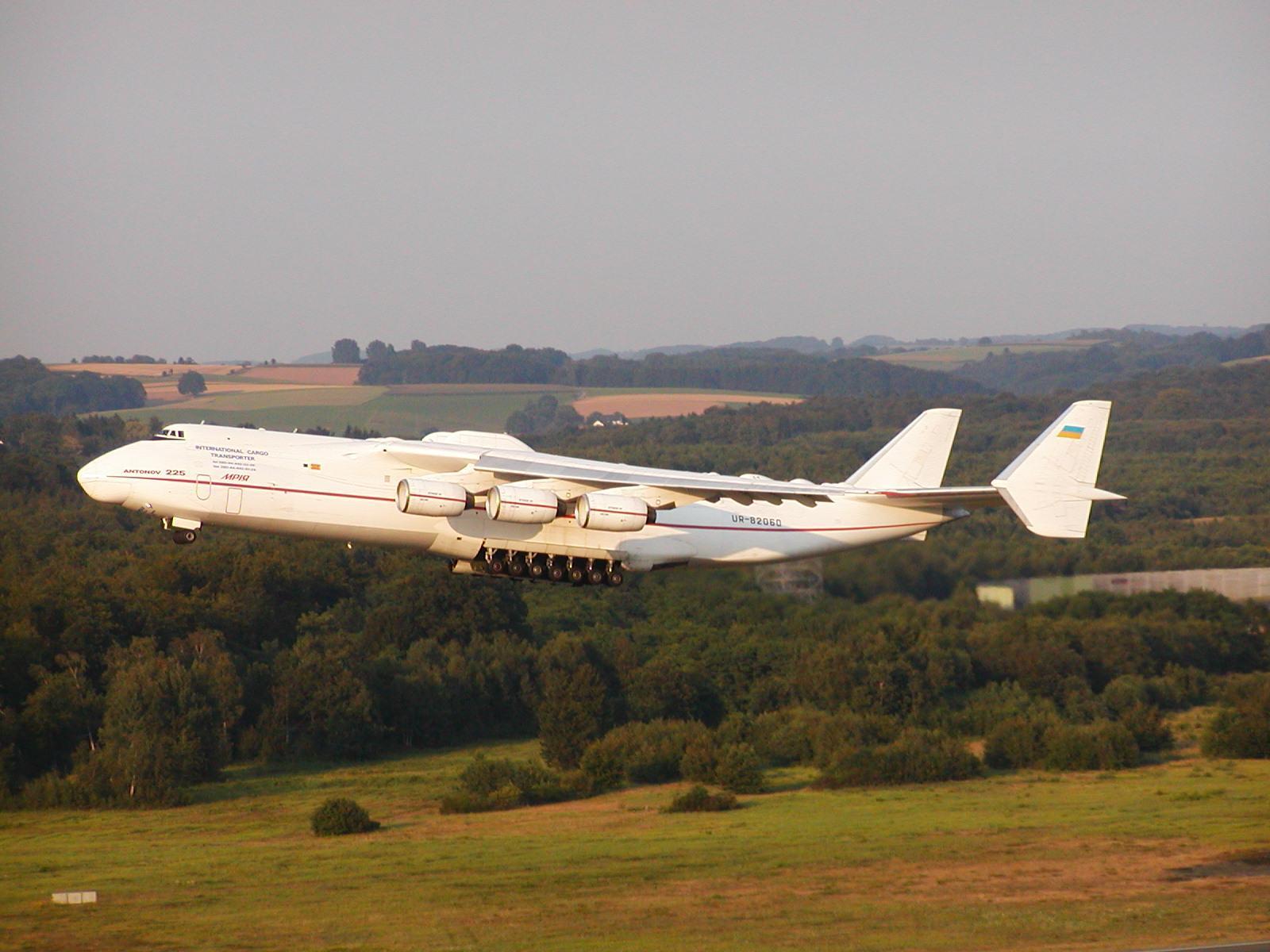 Antonov An-225 Mriya Interior